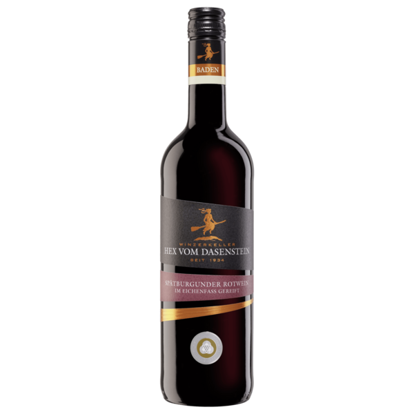 Hex vom Dasenstein Rotwein Spätburgunder Edition QbA halbtrocken 0,75l