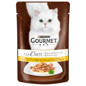 Gourmet Katzenfutter A la Carte mit Huhn 85g