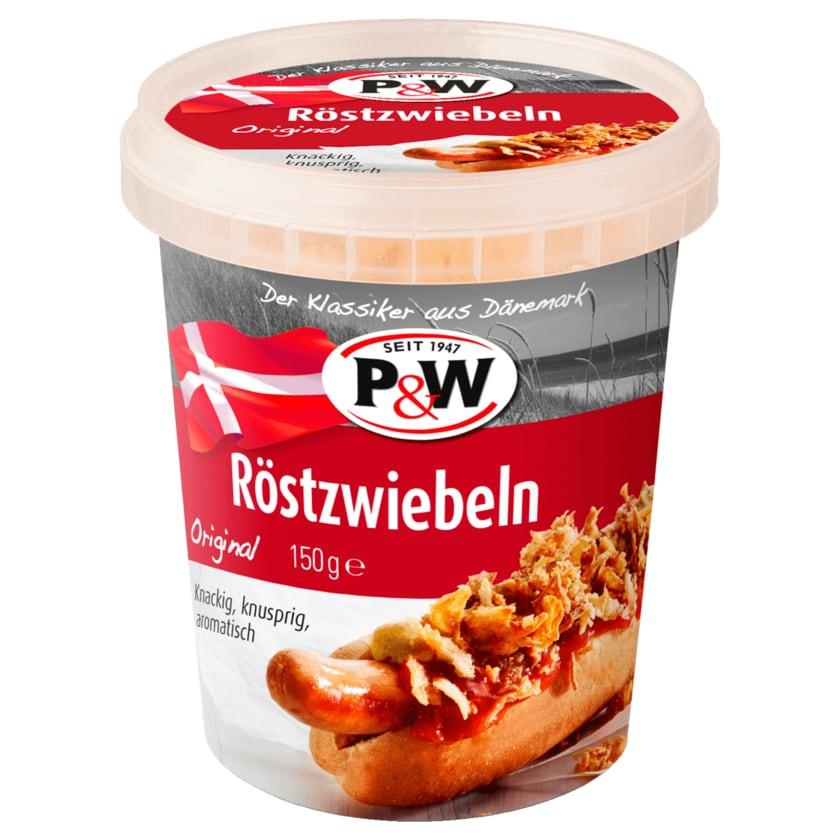 P&W Röstzwiebeln 150g
