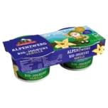 Berchtesgadener Land Bio-Joghurt Alpenzwerg Vanille 2x100g
