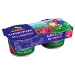 Berchtesgadener Land Bio-Joghurt Alpenzwerg Himbeere 2x100g