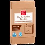 REWE Beste Wahl Bio-Kompostbeutel 10l, 10 Stück