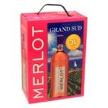 Grand Sud Rosé Merlot trocken 3l
