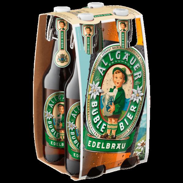 Allgäuer Brauhaus Büble Bier 4x0,5l