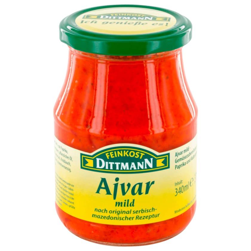 Feinkost Dittmann Ajvar mild 340ml