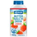 Milram Buttermilch-Drink Erdbeere 500g