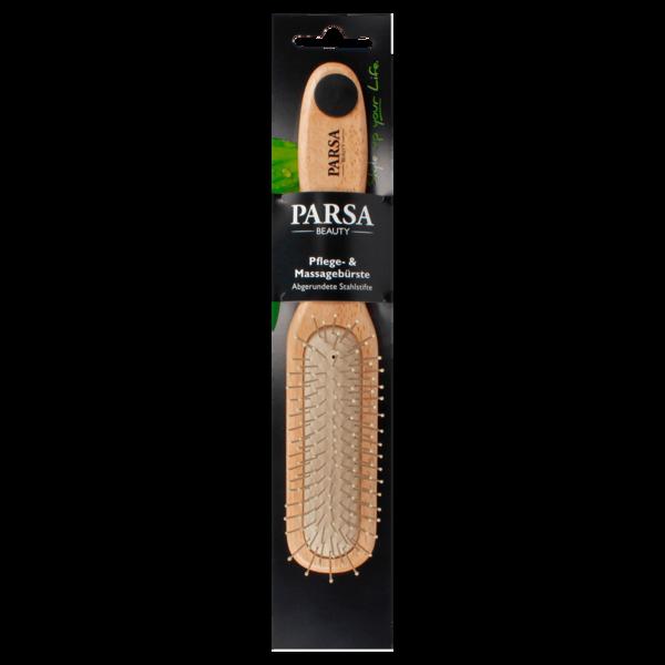 Parsa Beauty Metall-Holzhaarbürste lang