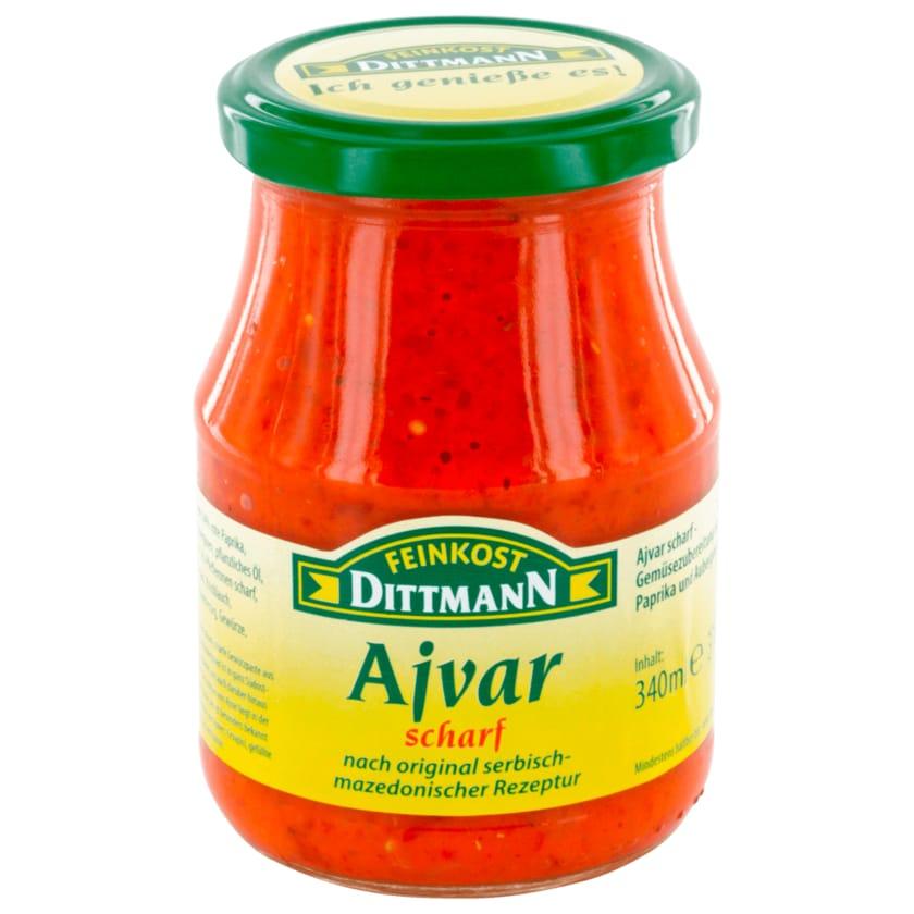 Feinkost Dittmann Ajvar scharf 340ml