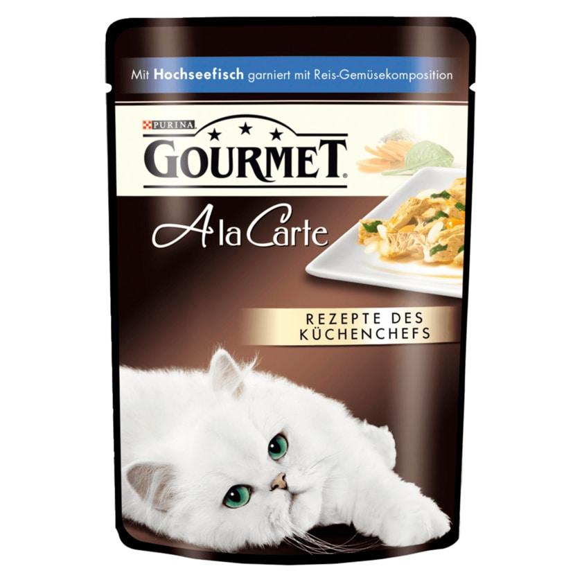 Gourmet A la Carte mit Hochseefisch 85g