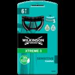 Wilkinson Sword Xtreme 3 Sensitive 6 Stück