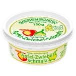 Siebenschuh Feines tafelfertiges Apfel-Zwiebel-Schmalz 150g