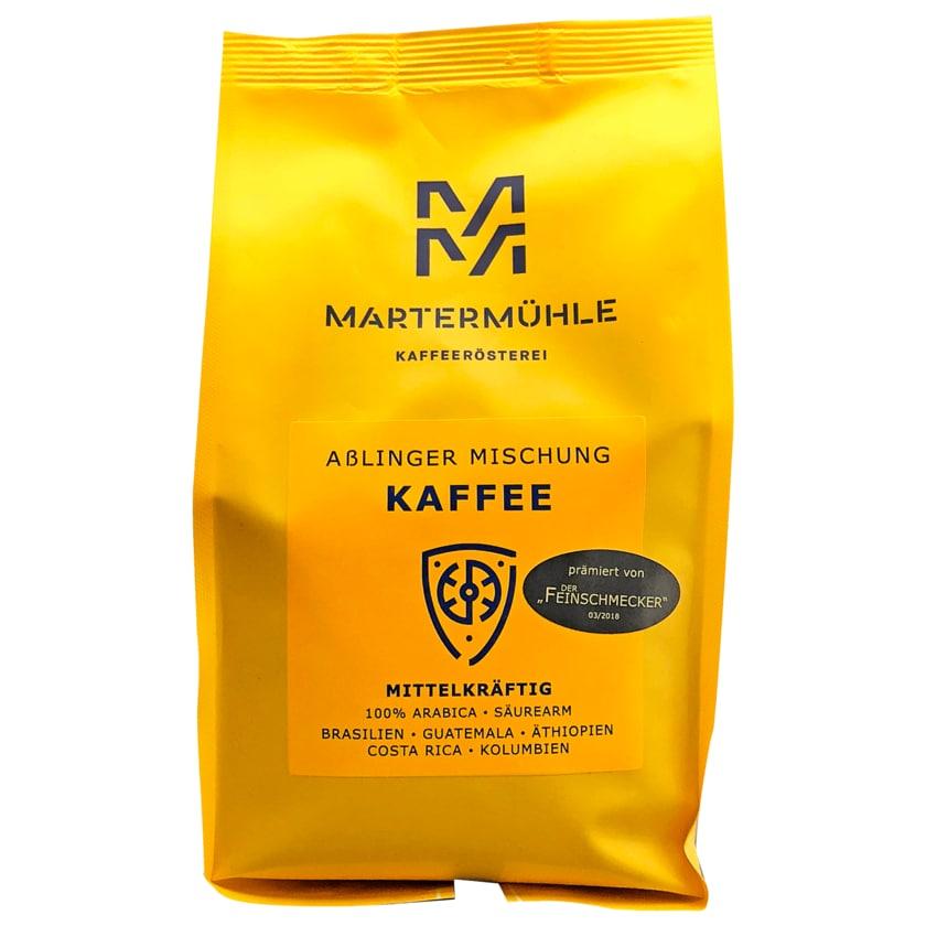 Martermühle Aßlinger Mischung Kaffee mittelkräftig ganze Bohne 500g