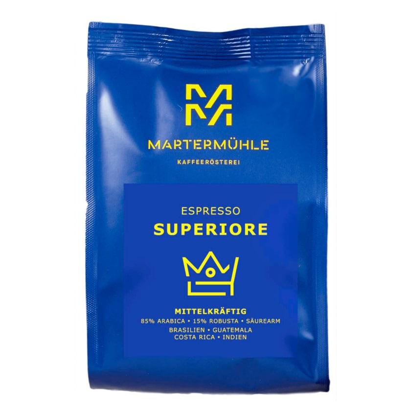 Martermühle Espresso Superiore mittelkräftig ganze Bohne 500g