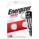Energizer Knopfzellen Lithium CR2032 2 Stück