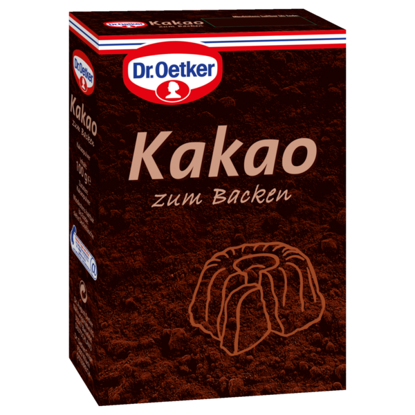 dr oetker kakao zum backen 100g bei rewe online bestellen. Black Bedroom Furniture Sets. Home Design Ideas