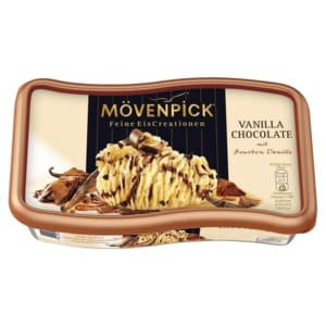Mövenpick Eis Vanilla Chocolate Familienpackung 900ml