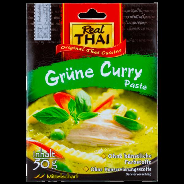 Real Thai Grüne Curry-Paste 50g