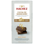 Hachez Cocoa de Maracaibo Orange-Krokant 100g