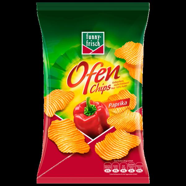 Funny-frisch Ofen Chips Paprika 150g