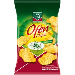 Funny-frisch Ofen Chips Sour Cream 150g