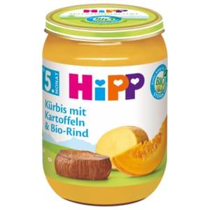 Hipp Kürbis mit Kartoffeln & Bio-Rind 190g