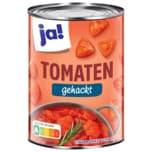ja! Tomaten fein gehackt in Tomatensaft 400g