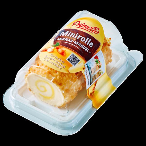 Primello Minirolle Ananas-Mandel 100g