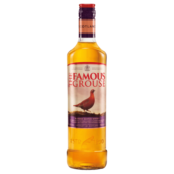 The Famous Grouse Whiskey 40% 0,7l