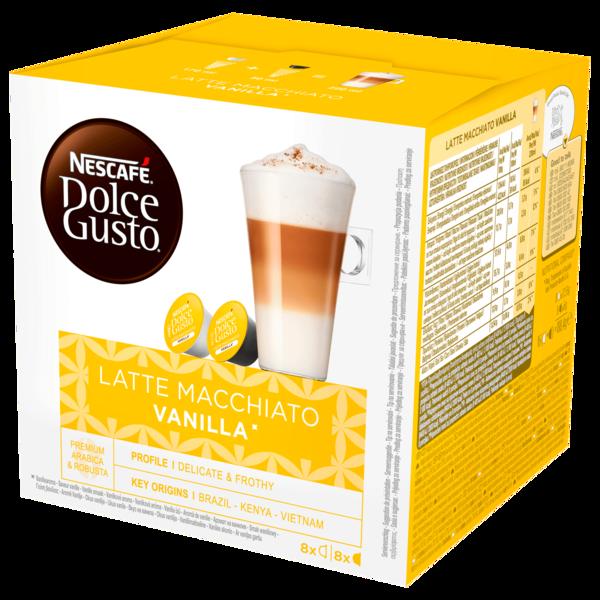 Nescafé Dolce Gusto Latte Macchiato Vanilla 16 Kapseln