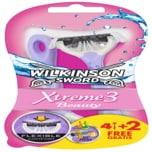 Wilkinson Sword Xtreme 3 Beauty Einwegrasierer 4+2 Stück