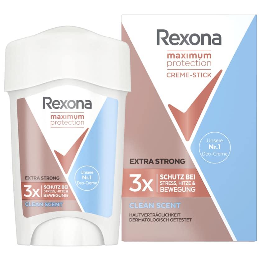 Rexona Deocreme Maximum Protection Clean Scent 45ml