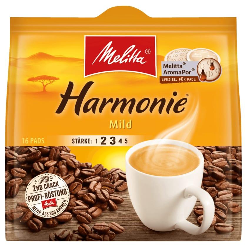 Melitta Café Harmonie Mild 112g, 16 Pads