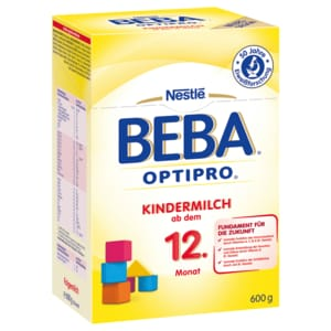 Nestlé BEBA Kindermilch Optipro ab dem 12. Monat 600g