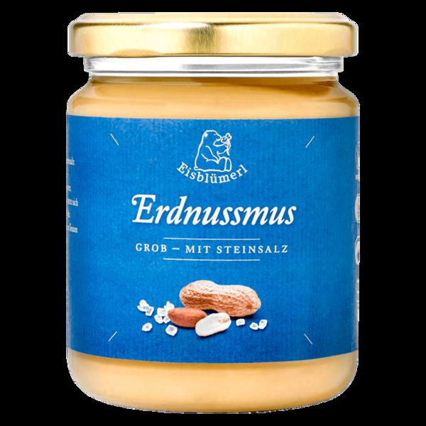 Eisblümerl Bio Erdnussmus grob mit Salz 250g