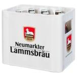 Neumarkter Lammsbräu Bio Dunkle Weiße alkoholfrei 10x0,5l