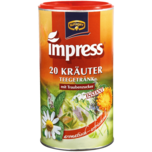 Krüger Impress Kräuter Teegetränk mit Traubenzucker 200g