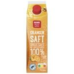 REWE Beste Wahl Orangensaft mit Fruchtfleisch 1l