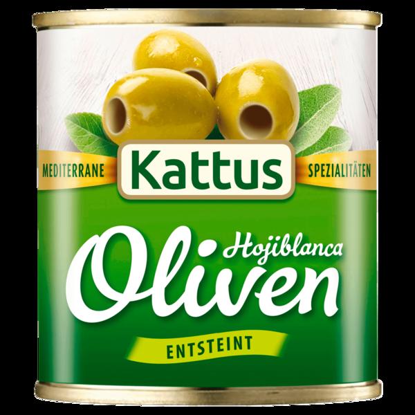 Kattus Grüne Oliven entsteint 85g