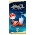 Lindt Vollmilchschokolade aus Alpenvollmilch 100g