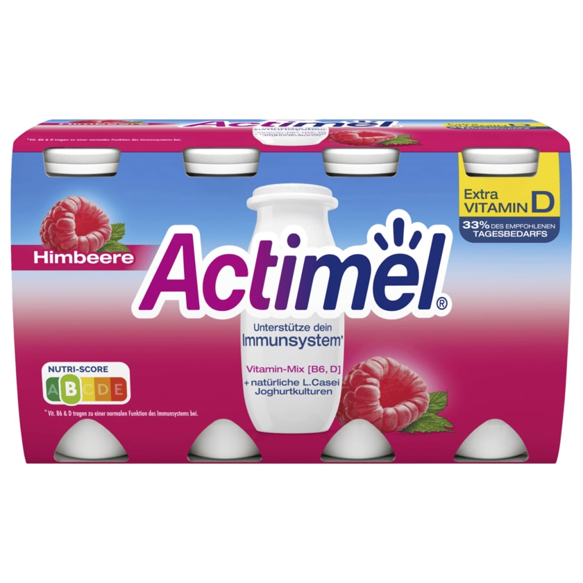 Danone Actimel Drink Himbeere 8x100g