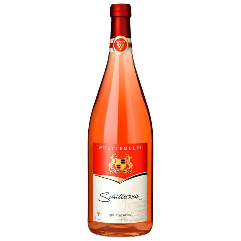 Württemberger Rosé Schillerwein halbtrocken 1l