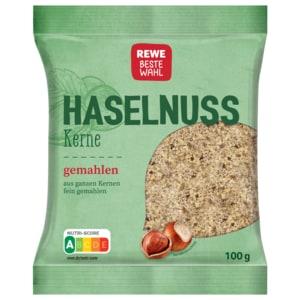 REWE Beste Wahl Haselnusskerne gemahlen 100g