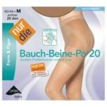 Nur die Bauch-Beine-Po 20 Strumpfhose amber 44-48