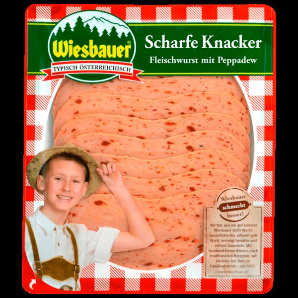 Wiesbauer scharfe Knacker aromaschutzverpackt 100g