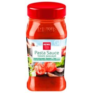 REWE Beste Wahl Pastasauce Tomate-Basilikum 380ml