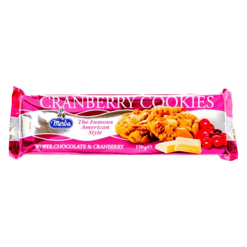 Merba White Chocolate Cranberry Cookies 200g