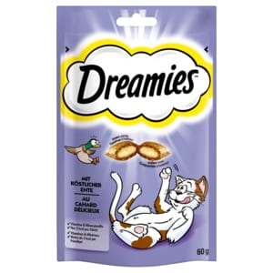 Dreamies mit köstlicher Ente 60g