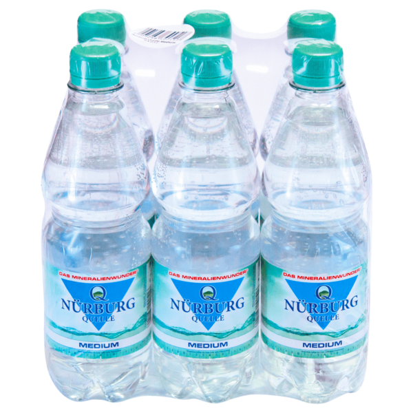 Nürburg Quelle Mineralwasser Medium 6x0,5l