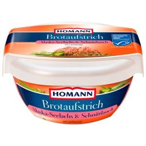 Homann Brotaufstrich Seelachs-Schnittlauch 135g