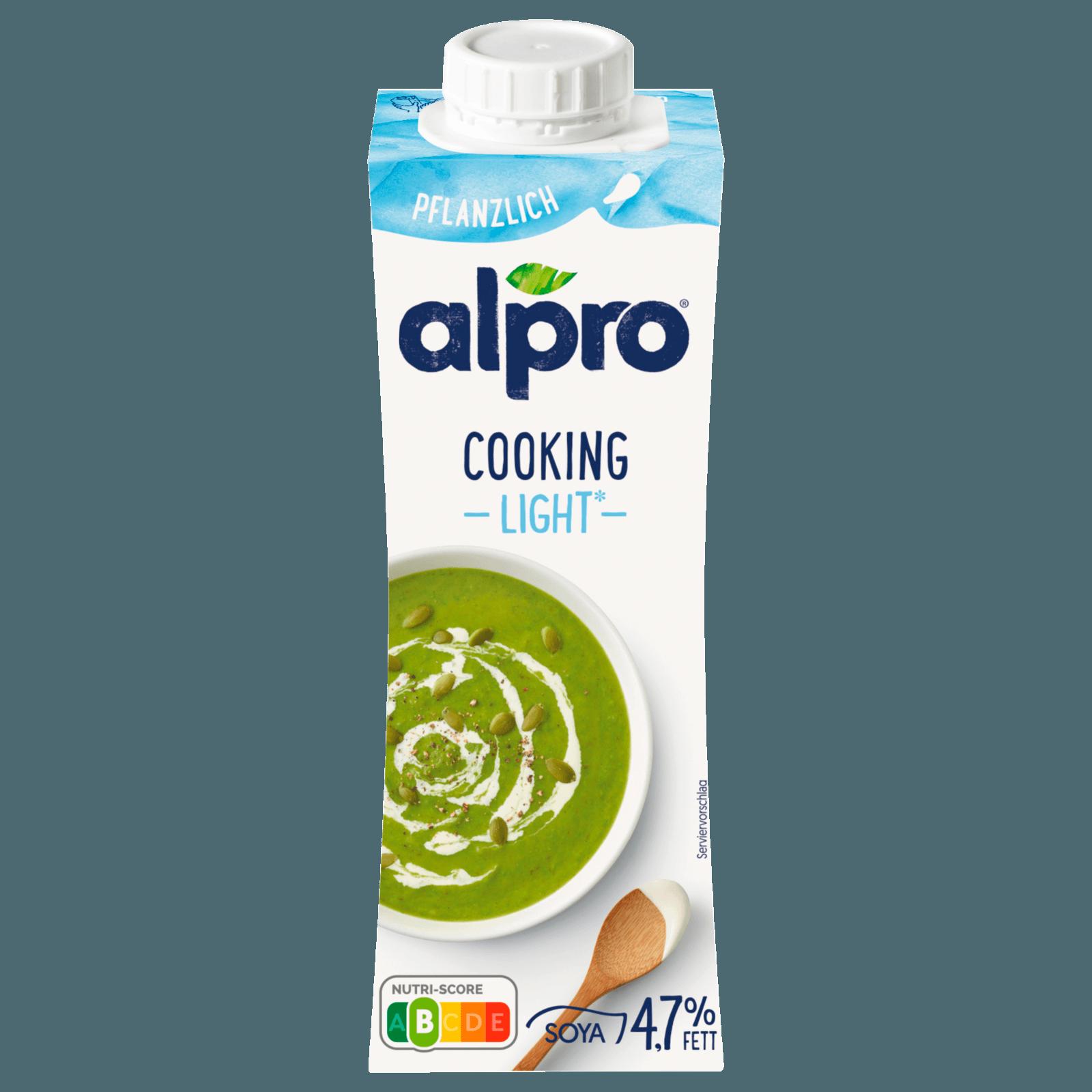 Alpro Soja‐Kochcrème Cuisine Light, 250 ml, 53